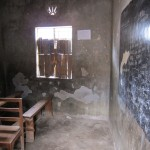 Eines der kleinen Klassenzimmer/One of the small classrooms