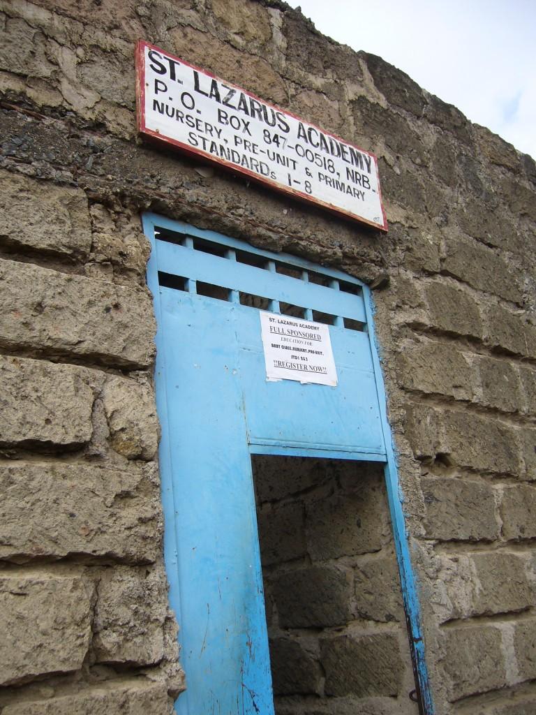 Aushängeschild der Schule / The School Sign