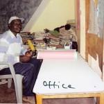Das Büro des Rektors